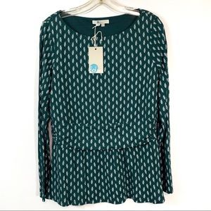 Boden NEW Top Fitted Waist 14R